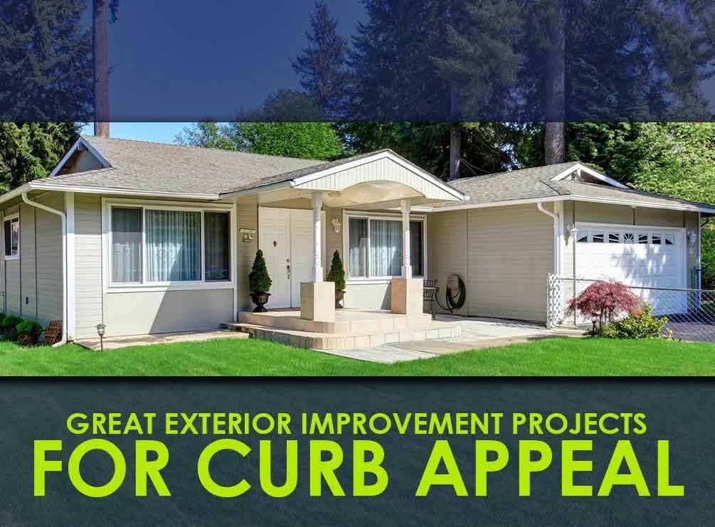 Exterior home improvement costs vinyl siding repair cost for Home improvement costs