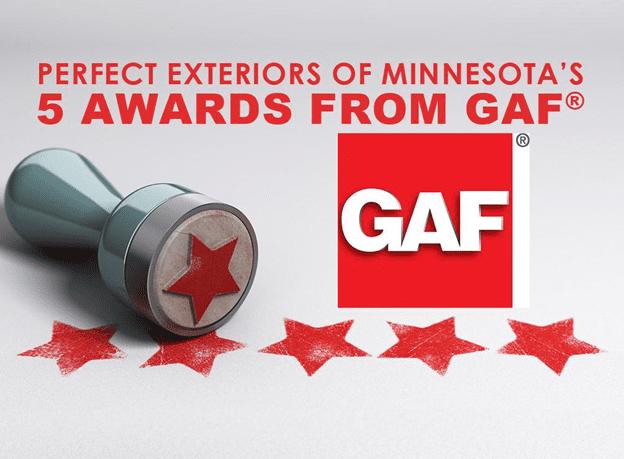 Awards from GAF®