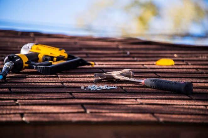 Picture of GAF Certified Roofer work.